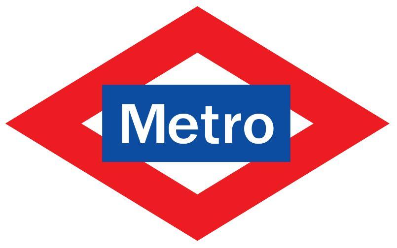 ALCAÑIZ Metro Logo
